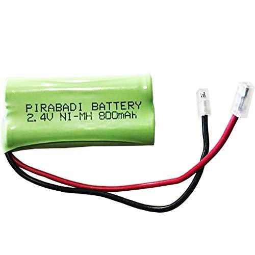 Confezione da 2 batterie ricaricabili ACCU 2,4 V AAA 800 mAh NI-MH NiMH 48 x 20 x 10 mm Telefono wireless RC auto/aereo \u200b\u200b\u200b\u02c6 Robot Toy MP3 MP4 ecc.