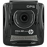"""HP F-310 Caméra automobile Full HD 1080p avec GPS Ecran 2,4"""" 3 Mpix Noir"""