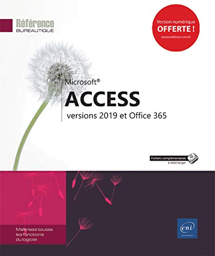 Access - versions 2019 et Office 365 par  Collectif