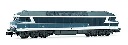 Arnold HN2386 Diesellokomotive CC72000 der SNCF Epoche IV Modellbahn, Blau