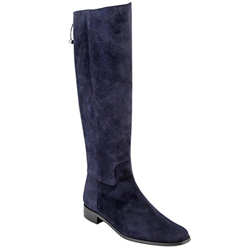 Exclusif Paris  Exclusif Paris Kim, Chaussures femme Bottes,  Damen Stiefel & Stiefeletten Blau - blau
