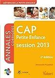 Image de Formation CAP Petite enfance, session 2013, Itinéraires pro Annales corrigées