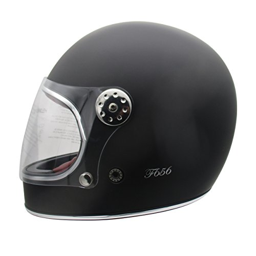 Viper F656 Vintage Full Face - Casco moto fibra vidrio