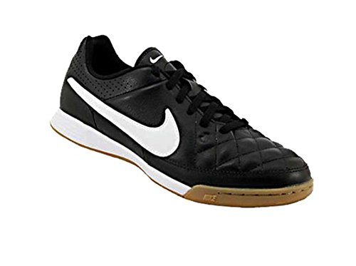 Nike Jr Tiempo Genio Leather IC, Chaussures de Sport Fille
