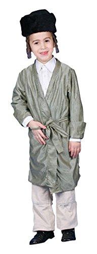 Dress Up America Disfraz de rabino judío para niños