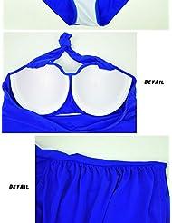 Plus de maillots de bain taille femelle siamois triangulaire en acier Toga professionnelle natation prend engrais pour augmenter les conservateurs amincissant maillots de bain