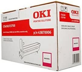 Oki 43870006 C5650 C5750 Trommel 20 000 Seiten Magenta Bürobedarf Schreibwaren