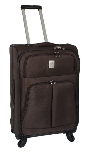 jenni-chan-shanghai-collection-25-inch-360-quattro-upright-spinner-brown-one-size
