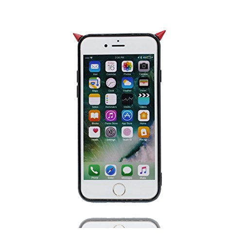 iPhone 6 Plus Copertura Cover, Durevole Shell TPU per le ragazze iPhone 6 Plus / 6S Plus Custodia Case 5.5 A prova di polvere - vulcanico # 6