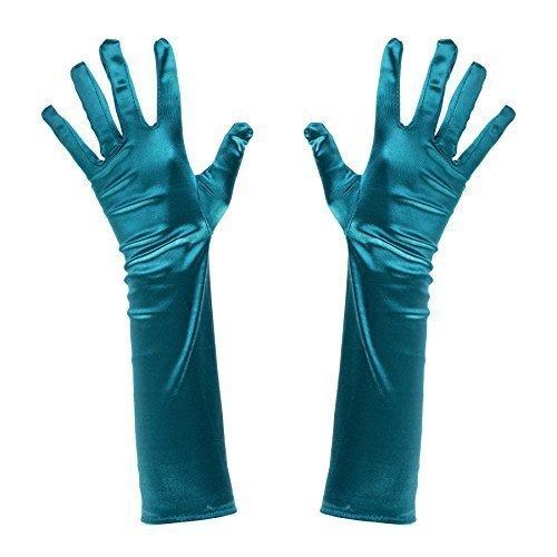 Türkis Grün Poisen Ivy / Meerjungfrau Kostüm Ellbogen Länge Handschuhe (Poisen Ivy Kostüme)