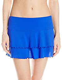 Body Glove Women's Smoothies Lambada Mesh Cover Up Skirt