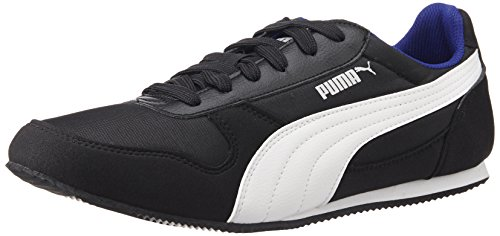 Puma Men's Superior DP Black, White and Surf The Web Sneakers - 8 UK/India (42 EU)
