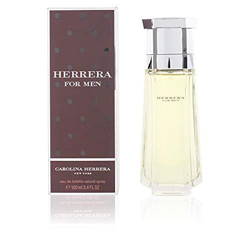 Carolina Herrera Homme / men, Eau de Toilette, Vaporisateur / Spray 100 ml, 1er Pack (1 x 100 ml) - Parfum Carolina Herrera