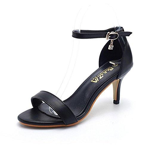 pengweiRhinestone-Schnalle mit einer stilvollen Haltung mit hochhackigen Schuhen 1