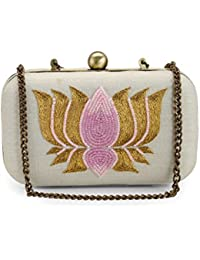 Tarini Nirula Accessories Women's Clutch (Off-White)