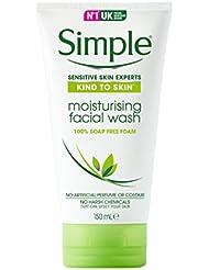 Simple Moist Foam Face Wash