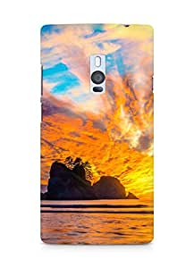 Amez designer printed 3d premium high quality back case cover for OnePlus Two (Nature (11))