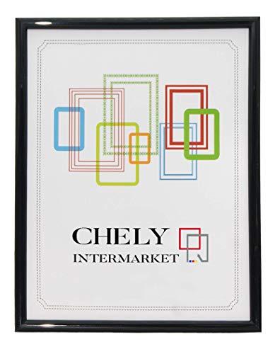 Chely Intermarket, Marcos Fotos 13x18cm Negro MOD-312