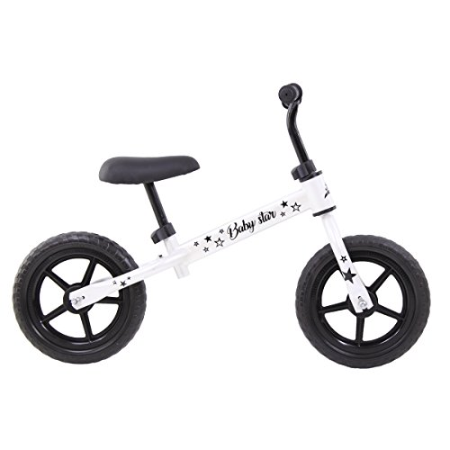 Riscko Bicicleta sin Pedales Baby Star (Blanco)