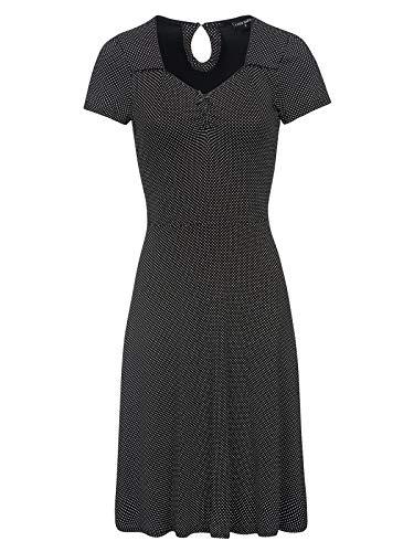 Vive Maria French Day Dress Black Allover, Größe:M -