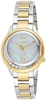 Citizen L Sunrise LS Women's Dial Stainless Steel Band Watch - EM0512