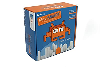 1 kg. FlexiSMART Flexible filament TPE for 3D Printer from FFFworld