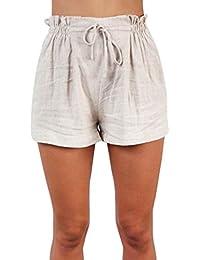 Beudylihy Donna Estivi Pantaloncini Sportivi Eleganti Pantaloni Donna Corti  Estate Shorts Donna Sportivi Eleganti Donna Cotone Estivo Sexy… edd3d8391ac