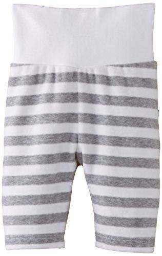 Steiff Unisex - Baby, Jogginghose, 0002864 Jogging Trousers, GR. Neugeboren (Herstellergröße:50), Schwarz (steiff Softgrey Melange)