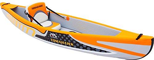 """'Aqua Marina remo Tomahawk 10' 8""""One + Kayak avanzado Kayak con drop Stitch Construcción el Tomahawk destaca Kayak hinchable a un nivel superior en términos de rigidez, Velocidad Y moldeados. esta Kayak es exactamente el adecuado para un entorno de ..."""