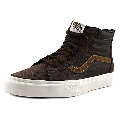 Vans - U Sk8-hi Zip Ca, Sneaker alte Unisex – Adulto Marrón