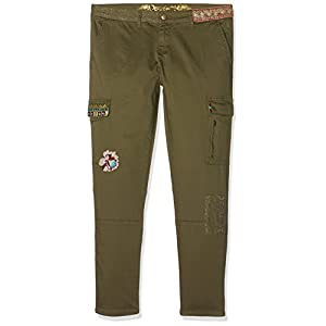 Desigual Pant_luz, Pantalones para Mujer
