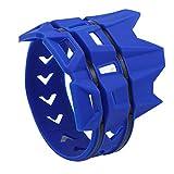 TOOGOO Cubierta Silenciador Anillo Anti-Plancha de Moto Cubierta Protectora Anillo Aislante Adecuado para Todoterreno Buggy Piezas (Amarillo)