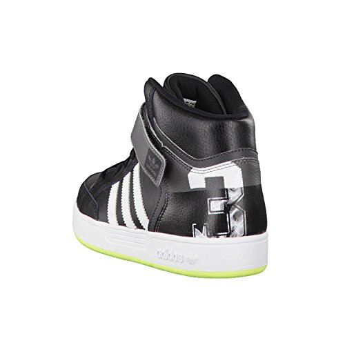 Adidas Originals Varial Mid - Sneaker, , taglia Black/White/Solar Yellow