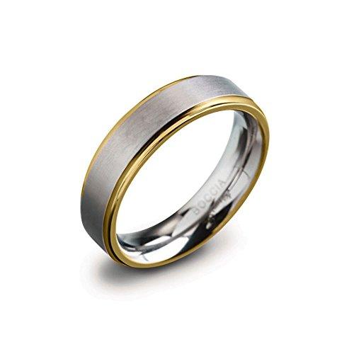 Boccia Unisex-Ring Titan Gr. 63 (20.1) - 0134-0563