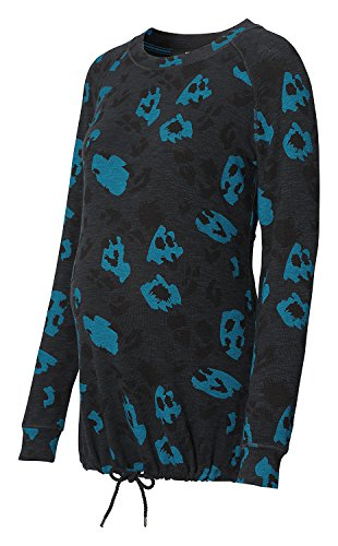 SUPERMOM AOP LS Leopard, Sweat-Shirt de Maternité Femme SUPERMOM