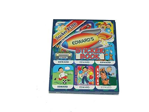 Aufkleber nach der Name personalisiert Edward 6verschiedene Stile 9Blatt 9Aufkleber pro Blatt (kann nicht auf jede andere Namen personalisiert werden)