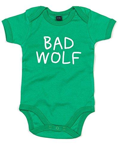 Bad Wolf, Gedruckt Baby Strampler - Grün/Weiß 6-12 Monate