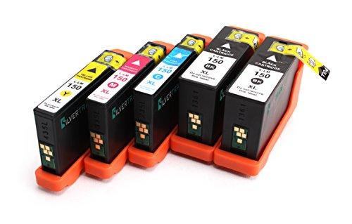 Multipack - 5 x Cartouches d'encre compatible pour LEXMARK No. 150 XL BK/C/M/Y - pour Lexmark S315, S415, S515, Pro715, Pro915