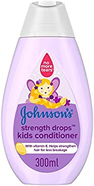 JOHNSON'S Kids Conditioner, Strength Drops, 300ml