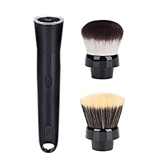 Elektrische Make up Pinsel, Automatische 360° rotierende Make up Bürste, Schminkpinsel Kosmetikpinsel Augenbrauenpinsel Gesichtspinsel Foundation Concealer Brush