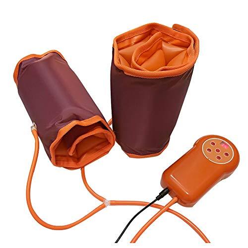 Hixgb ginocchiera elettrica wrap massaggiatore,massaggiatore elettrico a compressione a compressione d'aria,rilassamento del muscolo massaggiatore pneumatico della gamba del braccio della vita,c