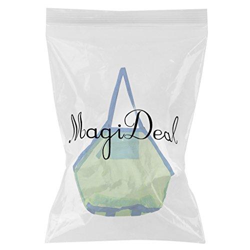 MagiDeal Bambini Sabbia Maglia Collezione Di Conchiglie Organizzazione Borsa Sacchetto da Mare Spiaggia - #1 #1