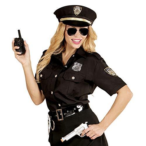 Widmann 67652 Erwachsenenkostüm Polizistin, Damen, Schwarz/Blau