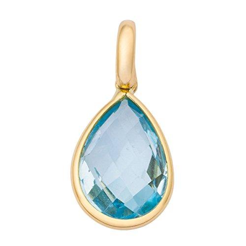 Miore Pendentif Femme  750/1000 (18 Cts) Bleu