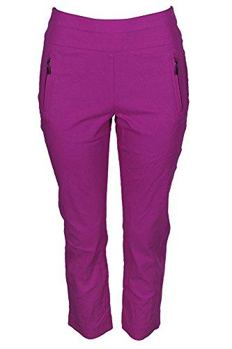 INC International Concepts Women's Regular Fit Cropped Straight-Leg Pants -
