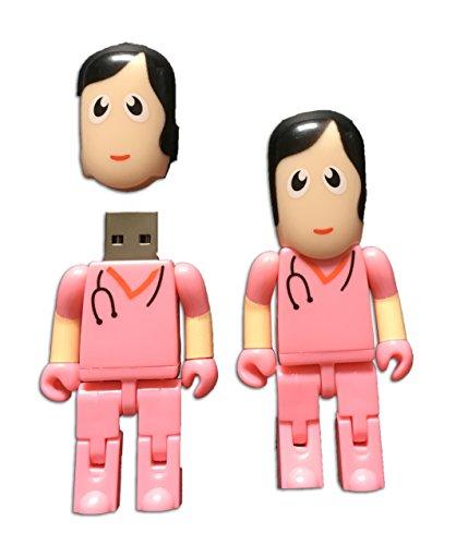 Tomax medico infermiere rosa ospedale come una chiavetta usb/8gb di memoria/memory stick usb