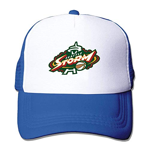 Dsarqwe Adult Seattle Storm Baseball Hat Mesh Back Trucker Vintage - Seattle Baseball-park