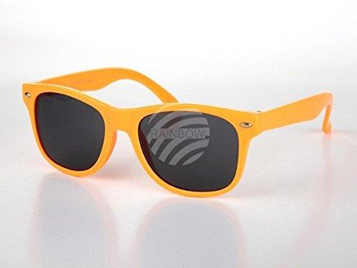 Viper Kinder Sonnenbrille Retro Wayfarer Nerd oronge*NEU*OVP*