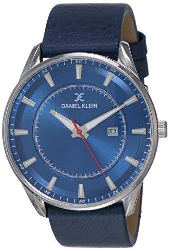Daniel Klein Analog Blue Dial Men's Watch-DK12011-6