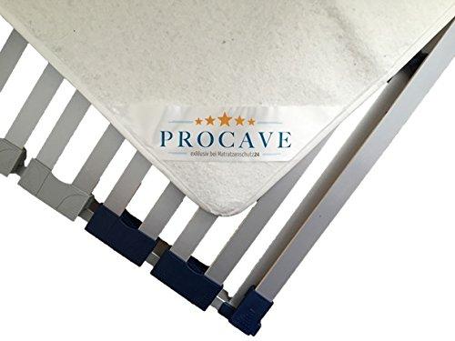PROCAVE Filzschoner für den Lattenrost in verschiedenen Größen - Made in Germany | Matratzen-Schoner und Matratzen-Unterlage 140x200 cm | atmungsaktiv und schützend